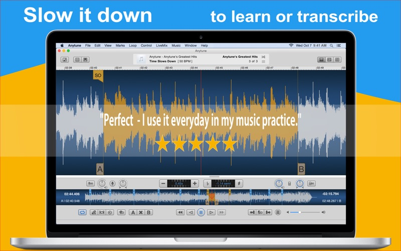 Anytune: Practice Perfected