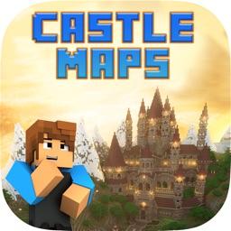 Epic castle maps for Minecraft pe