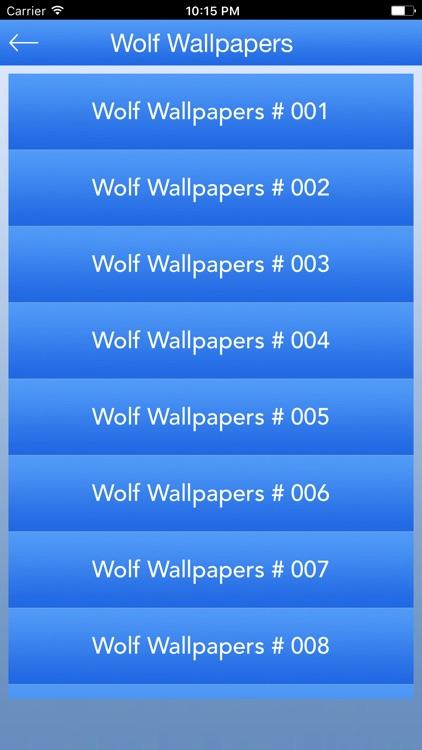 Cool Wolf Wallpapers HD screenshot-3