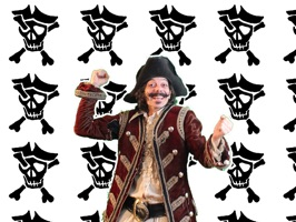 Arrrrrrrrrre you ready to stick with BC Pirate and his adventures on your phone