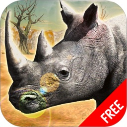 Rhino Africa Simulator : Wild Animal Survival Game