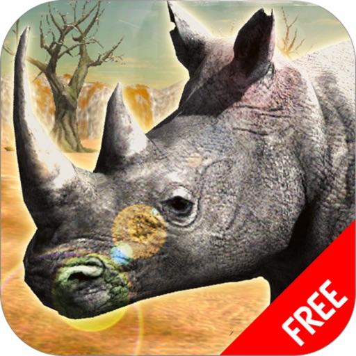 носорог Африка имитатор : животное игры бесплатно
