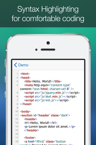 HTML Studio - náhled