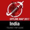 印度 旅游指南+离线地图