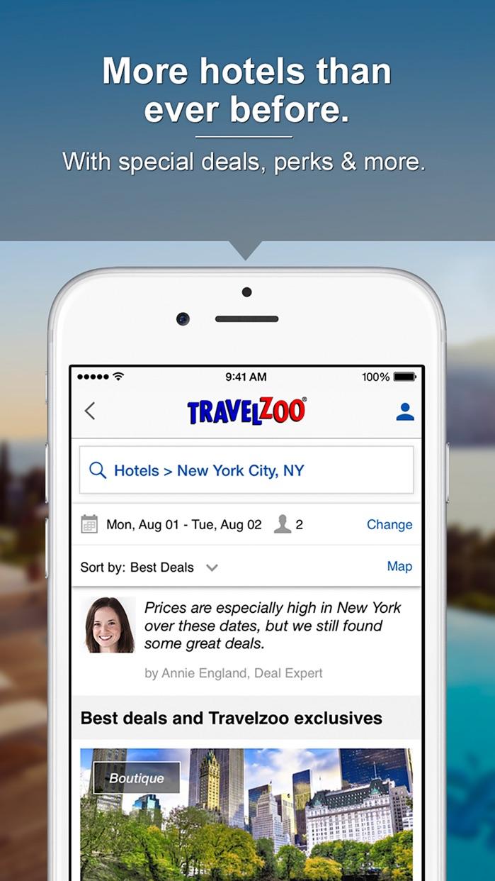 Travelzoo Screenshot