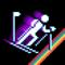 App Icon for Retro Winter Sports 1986 App in Azerbaijan IOS App Store