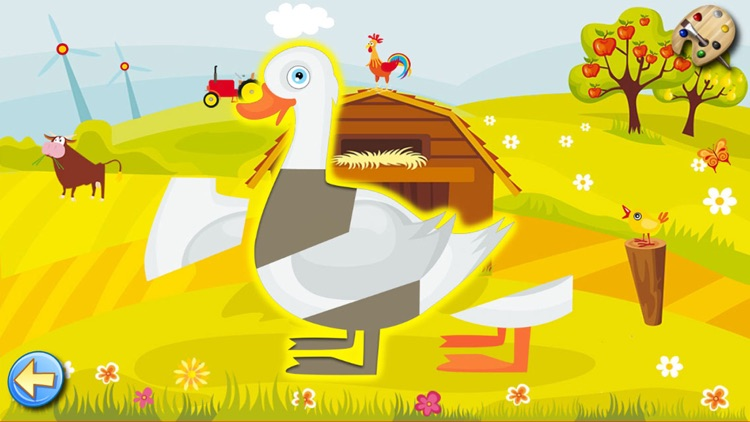 The Farm - Paint & Animal Sounds Games for Toddler screenshot-4