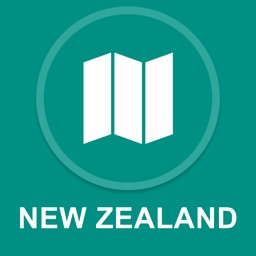New Zealand : Offline GPS Navigation