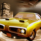 Old Muscle Car City Driving - Hardway parking 3D icon