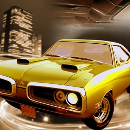 Old Muscle Car City Driving - Hardway parking 3D