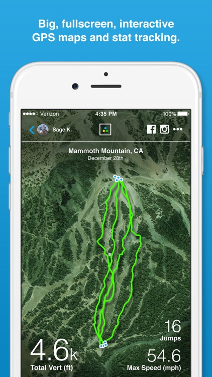 Trace Snow - Ski + Snowboard Tracker screenshot-1