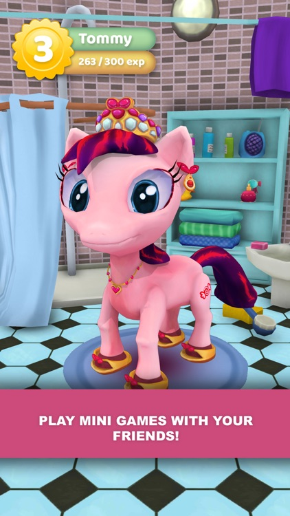 Little Pony Virtual Pet: Friendship screenshot-3