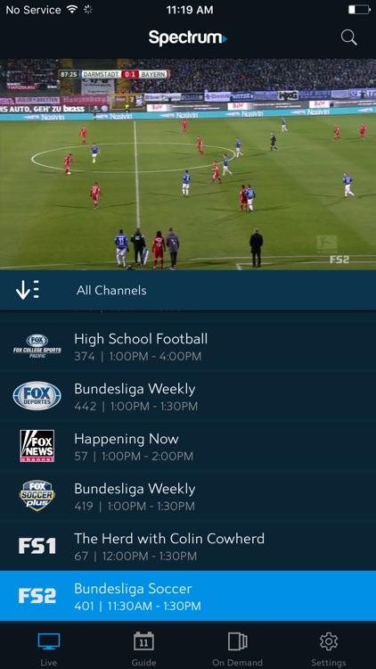 Spectrum TV screenshot-3