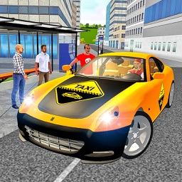 Taxi Driver 3D City Rush Duty