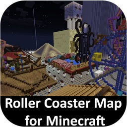 Roller Coaster Map for Minecraft PE