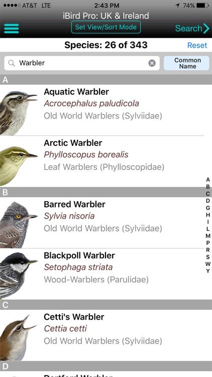 iBird Pro: UK & Ireland Guide to Birds