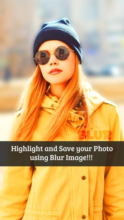Blur Image Background - Blur Photo Effect screenshot-3