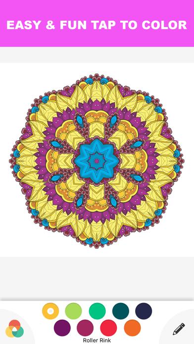 点击获取Color Therapy Adult : Coloring Book for Adults