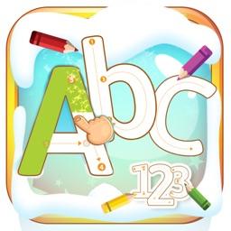 Tracing Letters Number Preschool and kindergarten