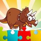 Динозавр головоломки - детские обучающие игры игра icon