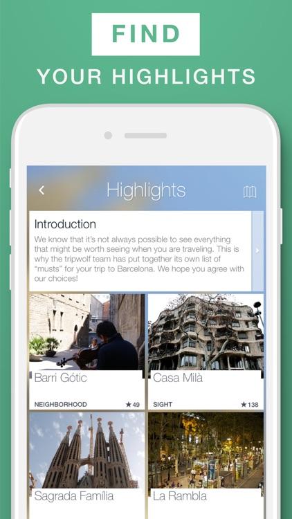 Barcelona - Travel Guide & Offline Map