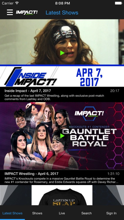 Total Access IMPACT Wrestling