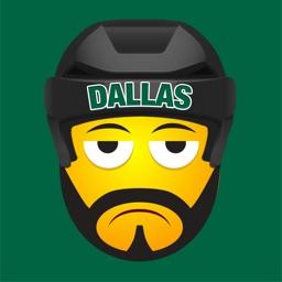 Dallas Hockey Stickers & Emojis