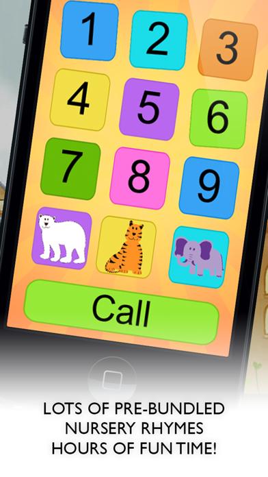 トイフォンベビーゲーム - Cool Phone Appのおすすめ画像1