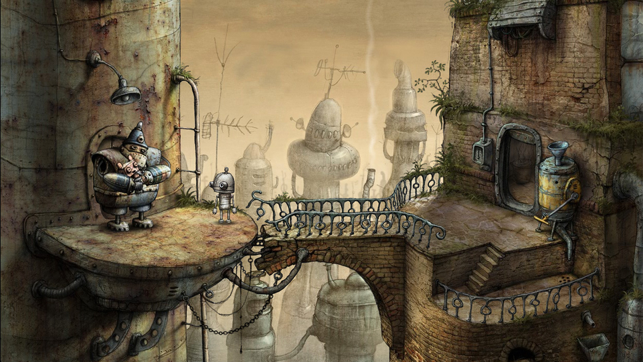 ‎Machinarium Screenshot
