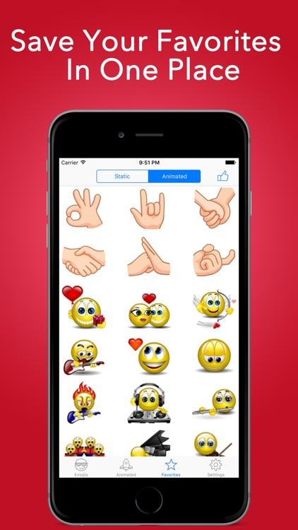 Adult Emoji Pro & Animated Emoticons for Texting screenshot-3