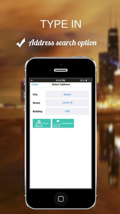 Surrey, UK : Offline GPS Navigation screenshot-4