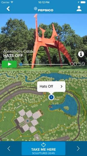 PepsiCo DMK Sculpture Garden App on the App Store