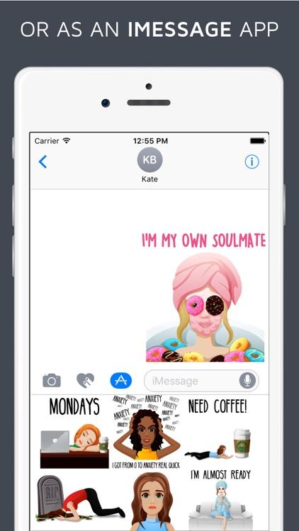Slaymoji - Emoji Keyboard & iMessage Stickers screenshot-4