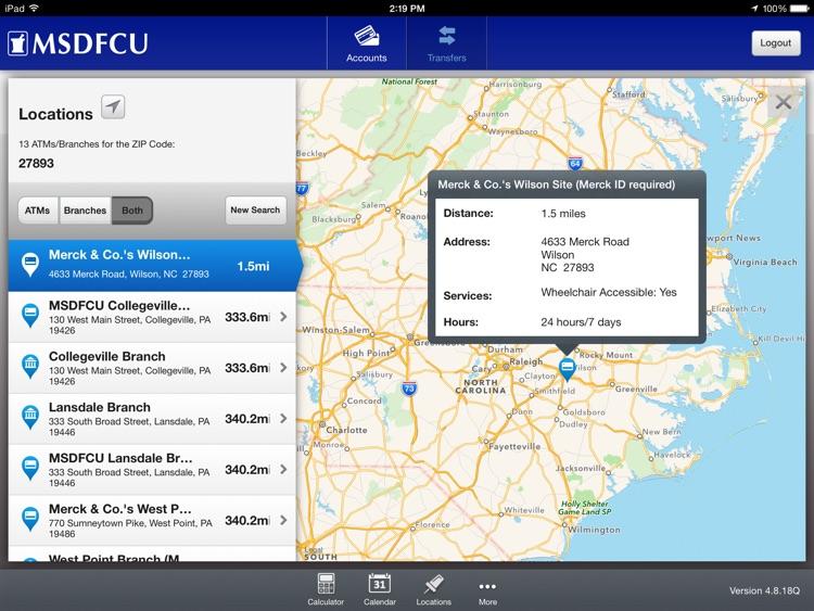 Merck Sharp & Dohme FCU Mobile for iPad screenshot-4