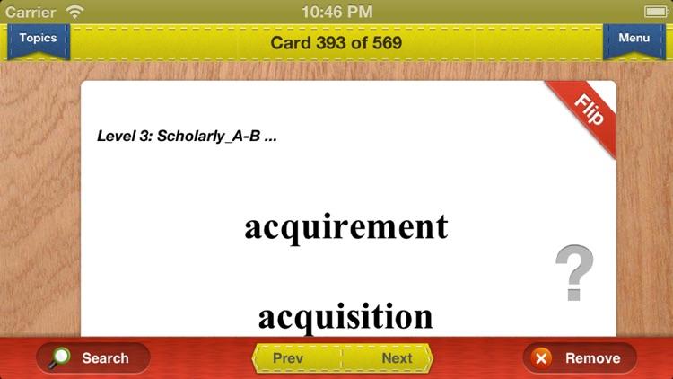 PCAT Prep Verbal Flashcards Exambusters screenshot-3