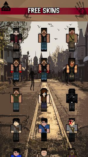 Skins For Walking Dead For Minecraft PE En App Store - Skins para minecraft the walking dead