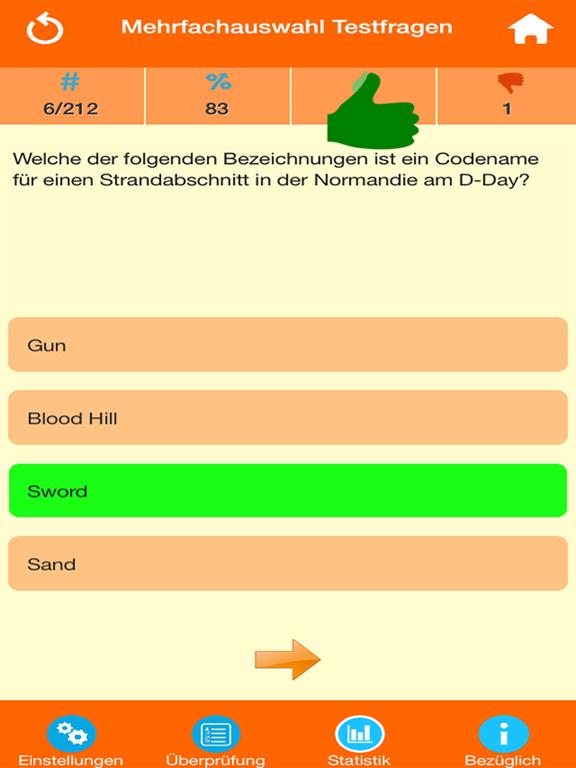 Der Zweite Weltkrieg Quiz screenshot 7