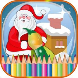 Christmas Preschool Toddler Coloring