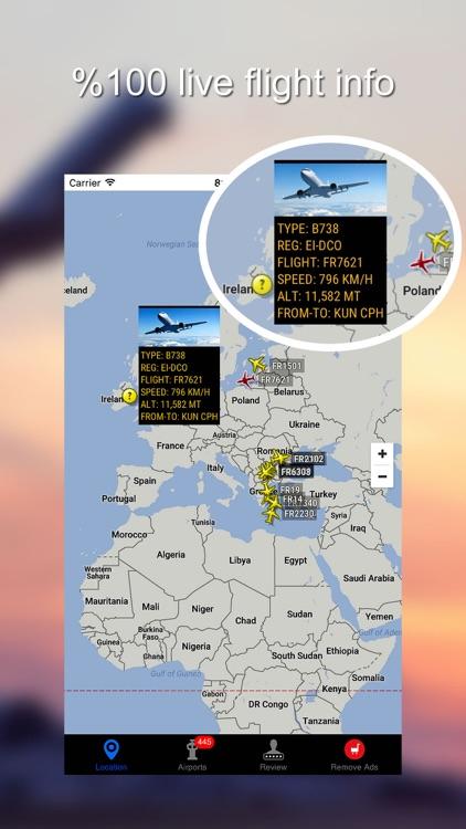 World Flights - Live Air Radar & Tracker