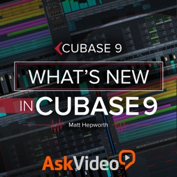 Course For What's New in Cubase 9