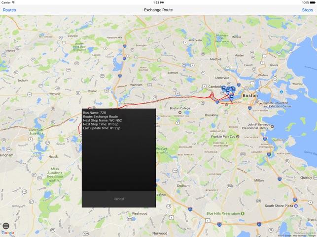 Wellesley shuttle tracker