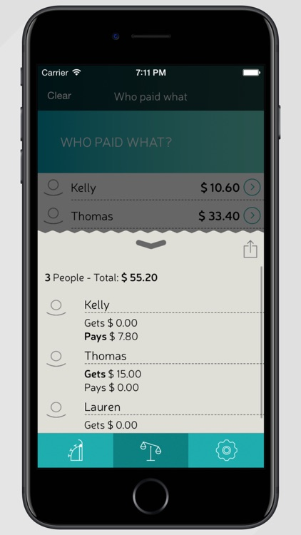 Split Wizard: Share Bills Payments Group Expenses screenshot-3