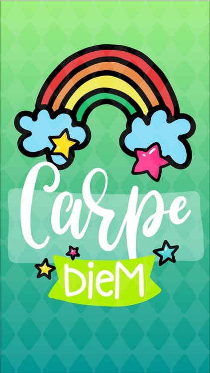 Carpe Diem - Daily Handwritten Motivational Words