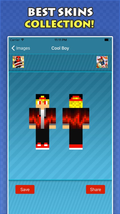 New COOL BOY SKINS FREE For Minecraft PE & PC screenshot-4