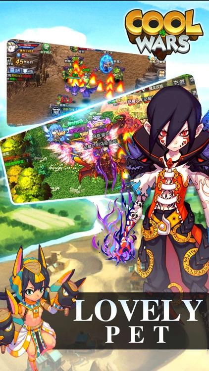 Cool Wars - MMORPG Adventure Games