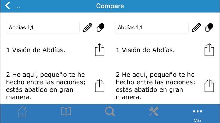 La Santa Biblia en Español screenshot-4