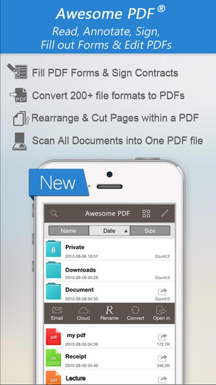 PDF Editor Pro : Create, Edit, Annotate & Sign PDF screenshot-0