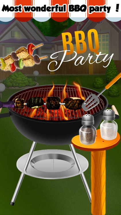 Grill BBQ Maker! Fun Fair Food Barbeque Party screenshot-3