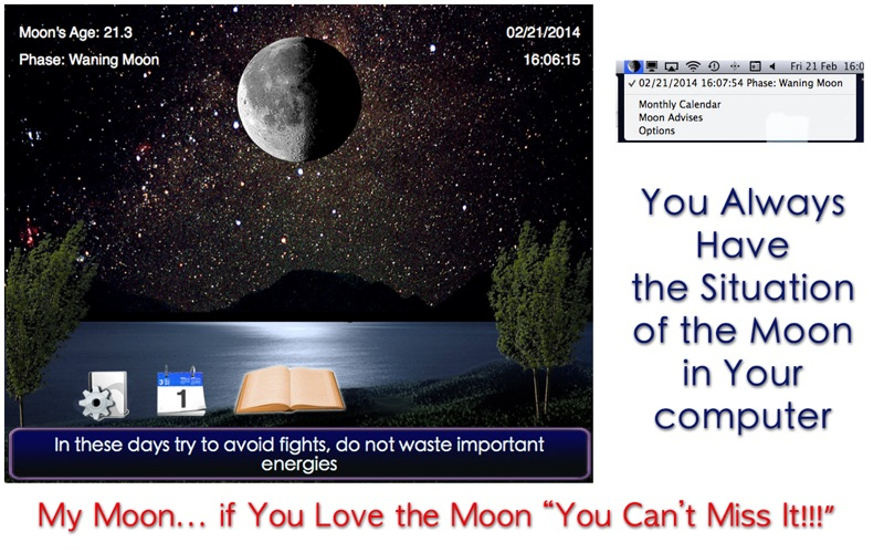My Moon - 調整你的生活與月亮周期 for Mac