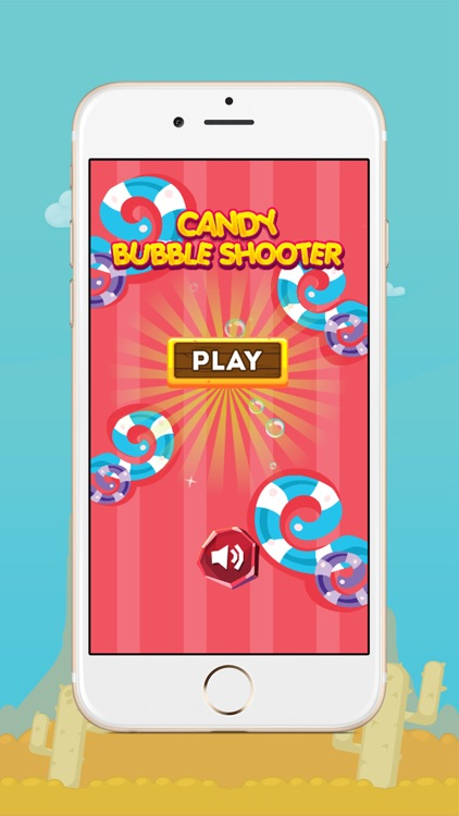 Sweet Candy Bubble Shooter